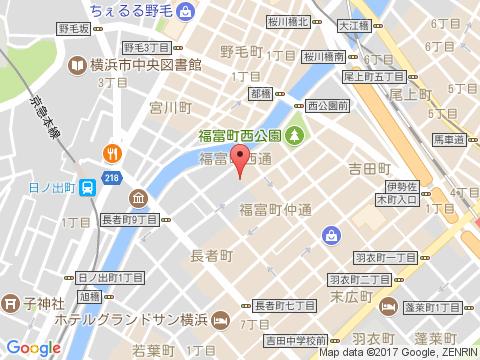 横浜関内ホストクラブ アーカディア アクセスマップ