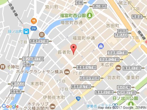 横浜関内ホストクラブ アーヴアクア アクセスマップ