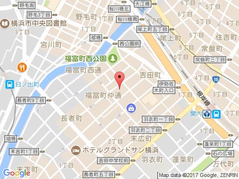横浜関内ホストクラブ アーウィンアイアス アクセスマップ
