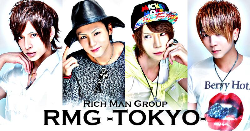 新宿歌舞伎町ホストクラブ アールエムジーRMG東京 TOP